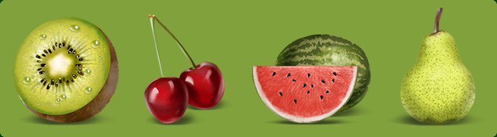 Fruits Icons for Joggit Memory (Mobilewaza)