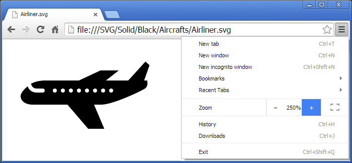 Metro Transport SVG Icons - one icon in Adobe Illustrator