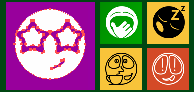 Metro Vector Emoticons