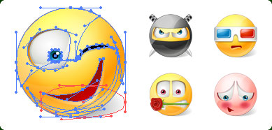 Vector Emoticons